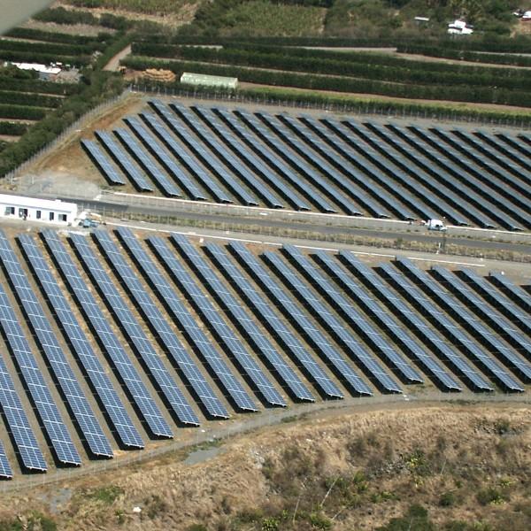 Photovoltaïque - Champ de production d'électricité - Réunion